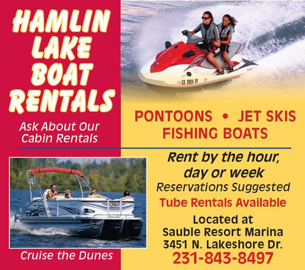 Hamlin Lake Boat Rentals